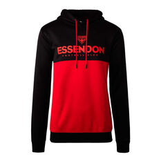 Essendon Bombers 2020 Mens Ultra Hoodie Black/Red S, Black/Red, rebel_hi-res