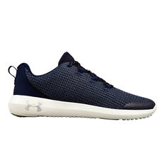 Under Armour Ripple Kids Running Shoes Navy US 4, Navy, rebel_hi-res