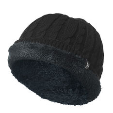 Heat Holders Mens Contrast Trim Beanie, , rebel_hi-res