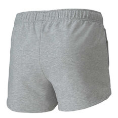 Puma Womens Knitted Shorts Grey XS, Grey, rebel_hi-res
