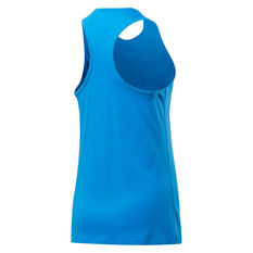 Reebok Womens Training Essentials Graphic Vector Tank Blue XS, Blue, rebel_hi-res
