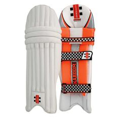 Gray Nicolls Kaboom Warner 31 Junior Cricket Batting Pads, , rebel_hi-res