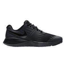 Nike Star Runner Kids Running Shoes Black US 4, Black, rebel_hi-res