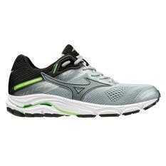 Mizuno Wave Inspire 15 Mens Running Shoes Black / Grey US 8, Black / Grey, rebel_hi-res