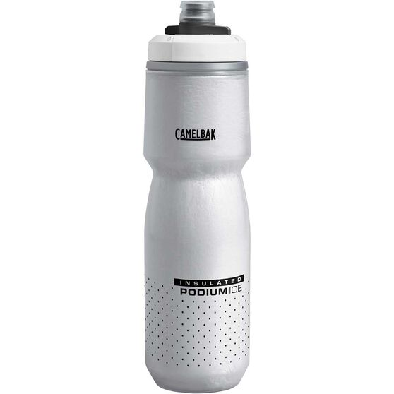 Camelbak Podium Chill 600ml Water Bottle Black, Black, rebel_hi-res