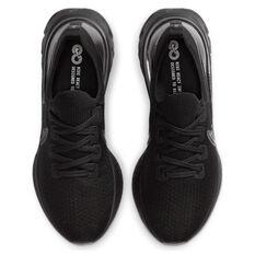 Nike React Infinity Run Flyknit Mens Running Shoes, Black/White, rebel_hi-res