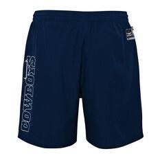 North Queensland Cowboys 2021 Kids Sports Shorts, Navy, rebel_hi-res