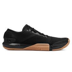 Under Armour Tribase Reign Mens Training Shoes Black US 7, Black, rebel_hi-res