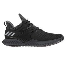 adidas Alphabounce Beyond Mens Running Shoes Black / Silver US 6, Black / Silver, rebel_hi-res