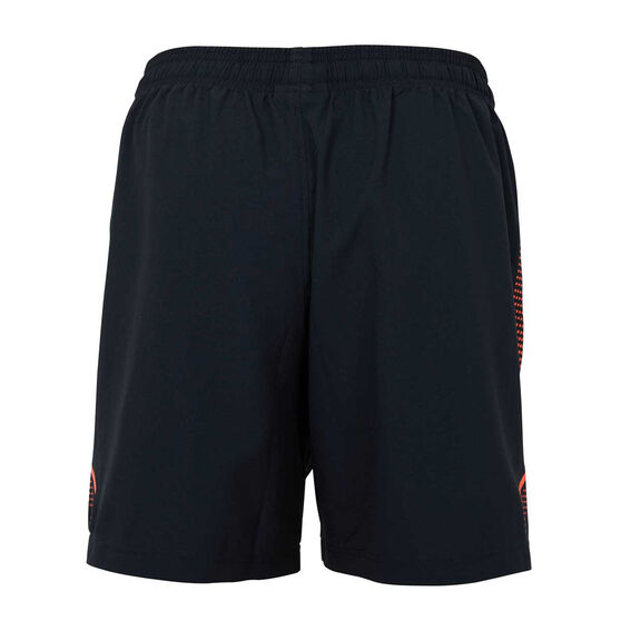 Essendon Bombers 2021 Mens Training Shorts, Black, rebel_hi-res