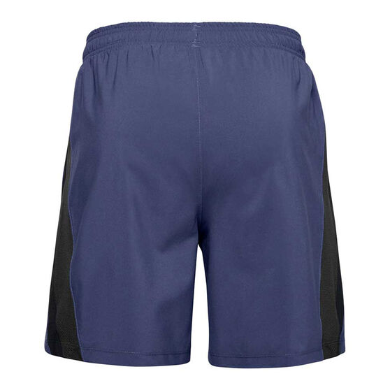 Under Armour Mens Launch 7in Woven Shorts Blue S, Blue, rebel_hi-res