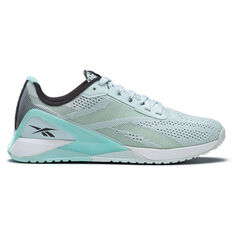 Reebok Nano X1 Womens Training Shoes Blue/White US 6, Blue/White, rebel_hi-res