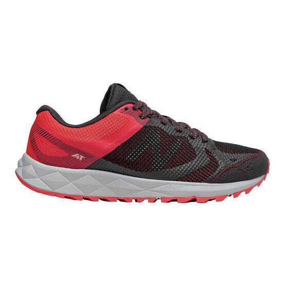 New Balance 590v3 Womens Trail Running Shoes, Black / Pink, rebel_hi-res