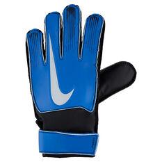 Nike Junior Match Goalkeeper Gloves Blue / Black 4, Blue / Black, rebel_hi-res