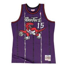 Toronto Raptors Vince Carter 98/99 Mens Swingman Jersey Purple S, Purple, rebel_hi-res