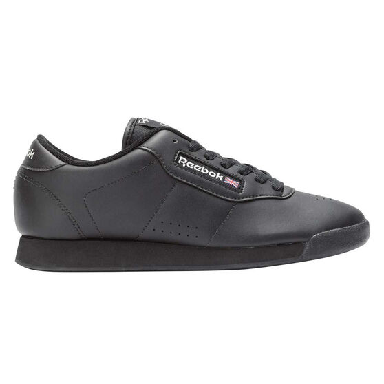 Reebok Princess Womens Casual Shoes, Black, rebel_hi-res