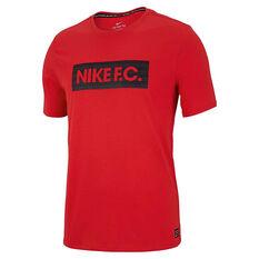 Nike Mens FC Dry Tee Crimson S, Crimson, rebel_hi-res
