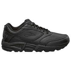 Brooks Addiction Walker 2E Mens Walking Shoes Black US 7, Black, rebel_hi-res