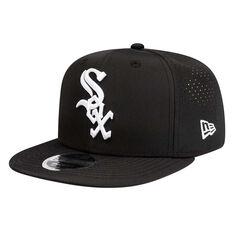 Chicago White Sox New Era 9FIFTY Prolight Cap Black S/M, Black, rebel_hi-res