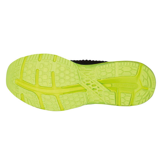 Asics GEL Kayano 25 Mens Running Shoes, Black / Lime, rebel_hi-res