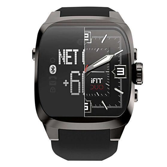 2398b92a5e7 iFit Duo Knight Activity Tracker Watch Black