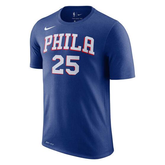 Nike Philadelphia 76ers Mens Ben Simmons Dry Tee, , rebel_hi-res