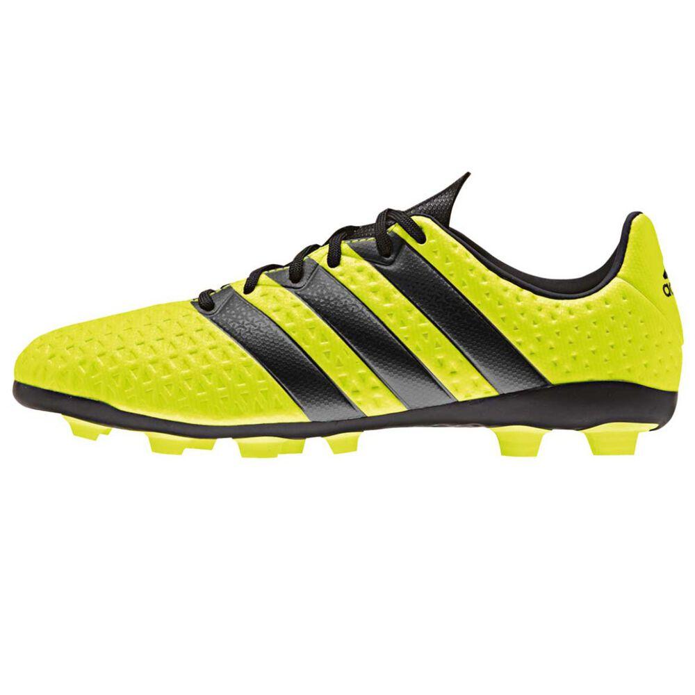 0e616d27e21bc adidas Ace 16.4 FXG Junior Football Boots Yellow   Black US 5 Junior ...