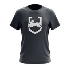 South Sydney Rabbitohs Exclusive Tee Grey S, Grey, rebel_hi-res