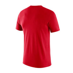 Houston Rockets Mens Dry Logo Tee Red S, Red, rebel_hi-res