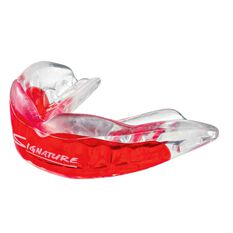 Achilles VIPA Custom Mouthguard Red / Clear Teen, Red / Clear, rebel_hi-res