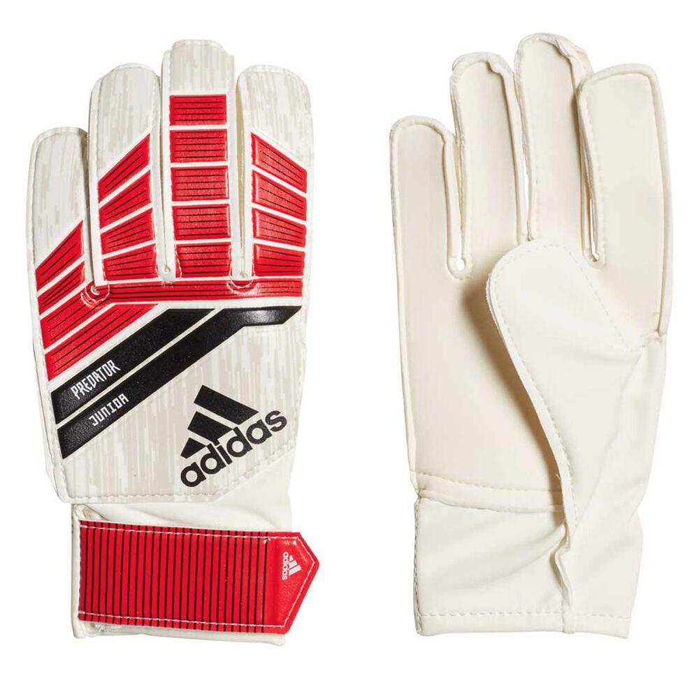 Rebel Sport Keeper Gloves: Adidas Predator 18 Pro Kids Goalkeeping Gloves Coral
