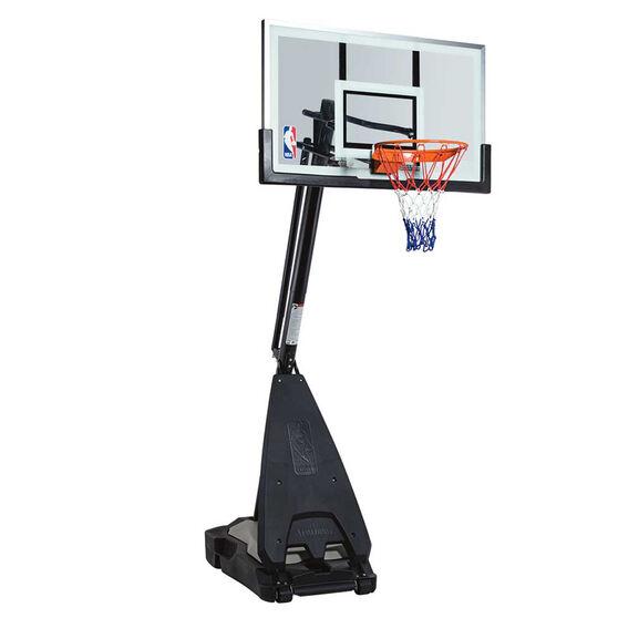 """Spalding 54"""" Glass NBA Ultimate Hybrid Basketball System, , rebel_hi-res"""