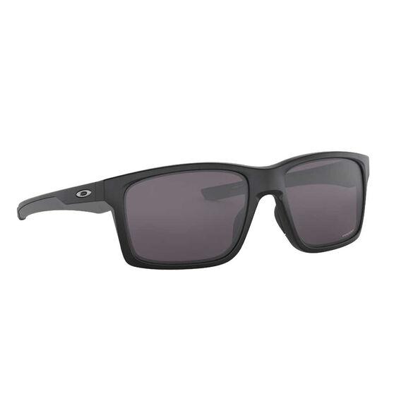 Oakley Mainlink XL Sunglasses, Matte Black/Prizm Grey, rebel_hi-res