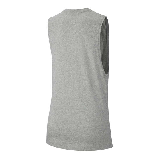 Nike Womens Sportswear Muscle Tank, Grey, rebel_hi-res