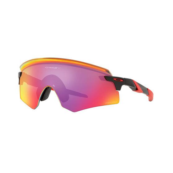 OAKLEY Encoder Sunglasses - Matte Black with PRIZM Road, , rebel_hi-res