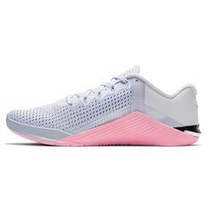 Nike Metcon 6 Womens Training Shoes Grey/Pink US 6, Grey/Pink, rebel_hi-res