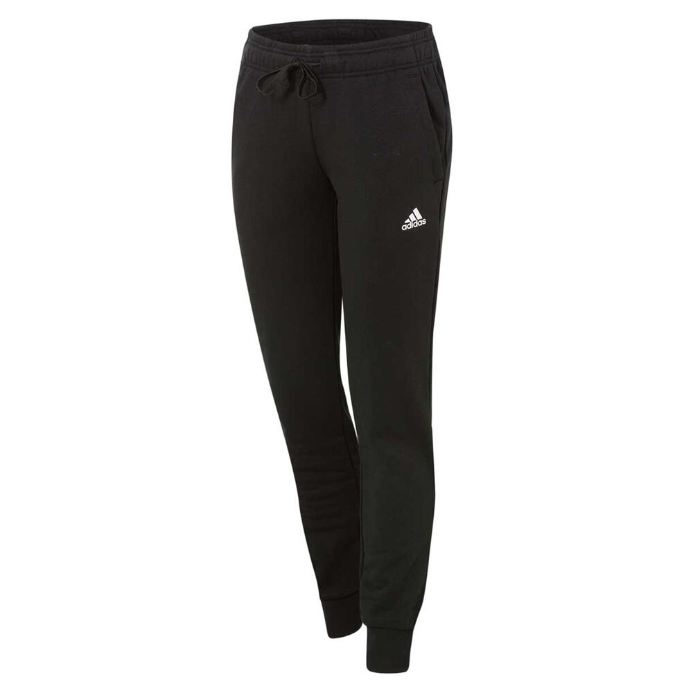 b8b29f30701a adidas Womens Essentials Solid Pants Black   White S Adult