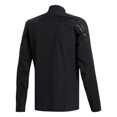 adidas Mens AEROREADY 3 Stripes Training Jacket Black S, Black, rebel_hi-res