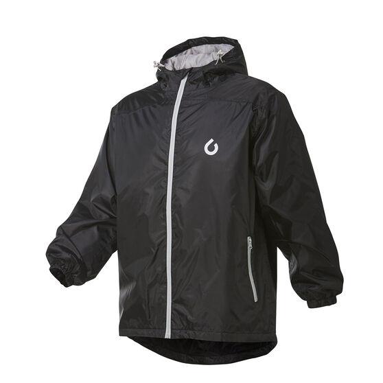 Team Mens Performa Jacket, Black, rebel_hi-res