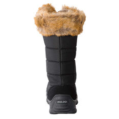 Rojo Snow Fox Womens Ski Boots Black 10, Black, rebel_hi-res
