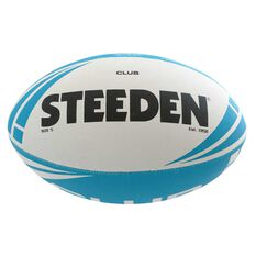 Steeden Club Rugby League Training Ball Blue 5, , rebel_hi-res