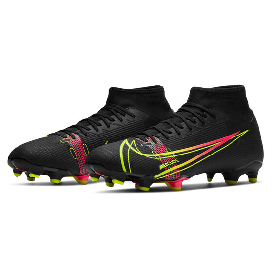 Nike Mercurial Superfly 8 Academy Football Boots, Black, rebel_hi-res