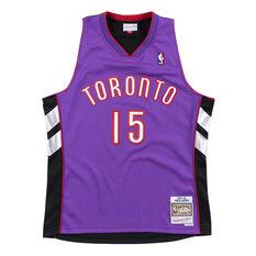 Toronto Raptors Vince Carter 99/00 Mens Jersey Purple S, Purple, rebel_hi-res