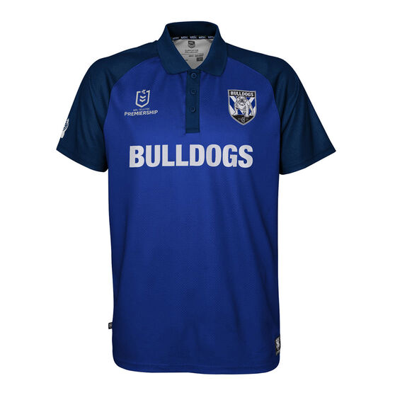 Canterbury Canterbury-Bankstown Bulldogs 2021 Mens Polo, Navy, rebel_hi-res