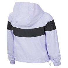 Nike Sportswear Girls Windrunner Jacket Lavender XS, Lavender, rebel_hi-res