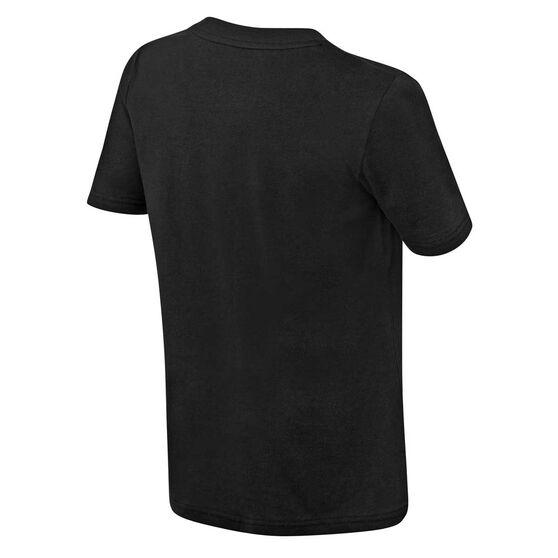 Chicago Bulls Short Sleeve Cotton Tee Black / Red S, Black / Red, rebel_hi-res