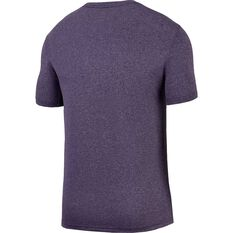 Nike Mens Dry Training T-Shirt Purple S, Purple, rebel_hi-res