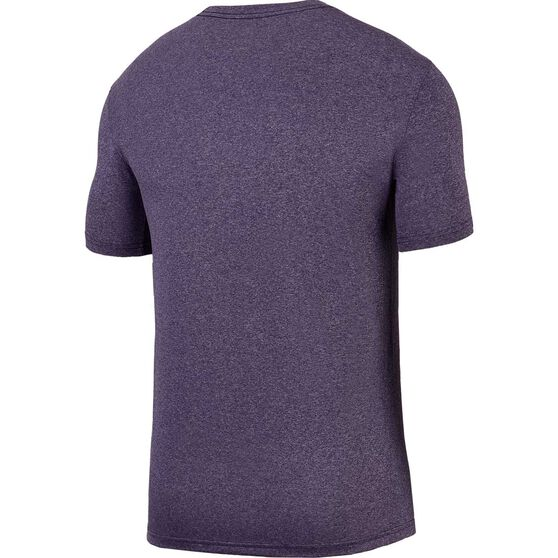 Nike Mens Dry Training T-Shirt, Purple, rebel_hi-res