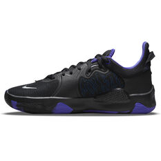 Nike PG 5 Basketball Shoes Black US 7, Black, rebel_hi-res
