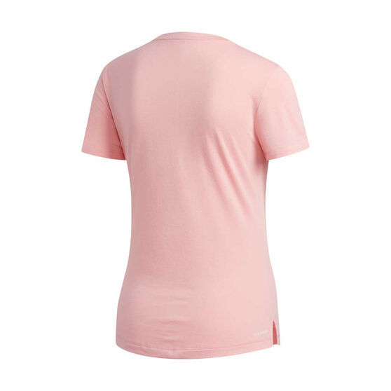 adidas Womens Prime Tee, Pink, rebel_hi-res